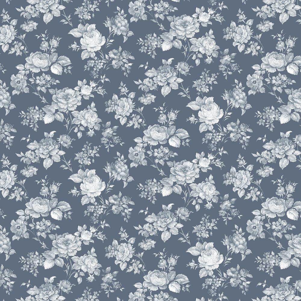 Muse Wallpaper - Bleu - by Graham & Brown