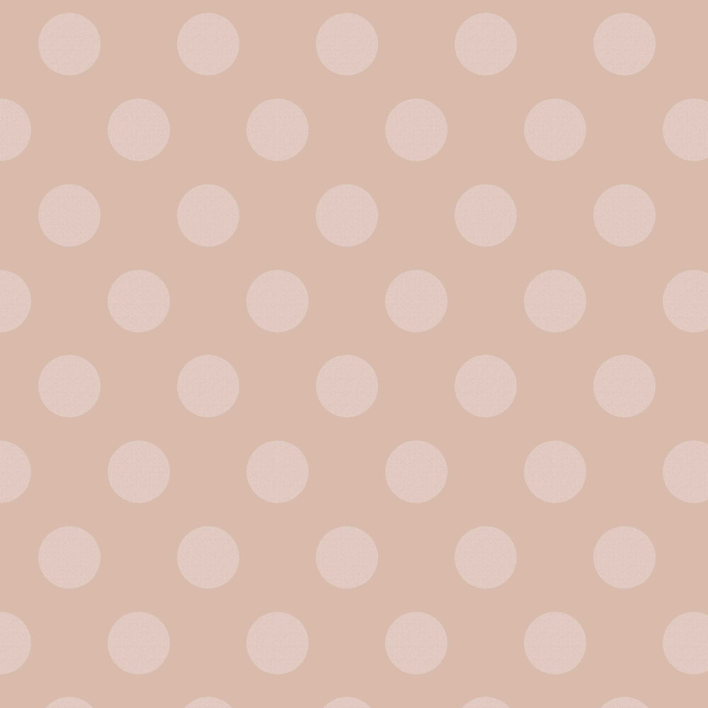 Graham & Brown Polka Rose Quartz Wallpaper - Product code: 105166