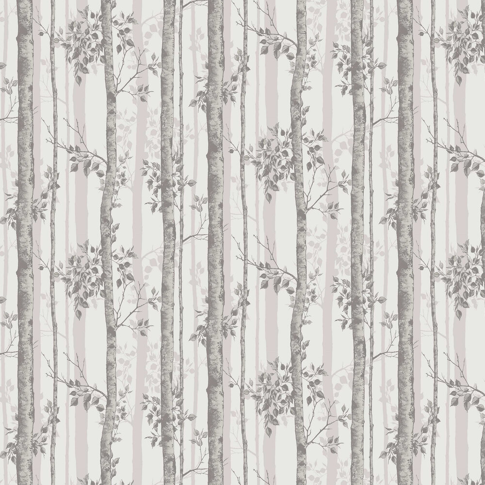 Albero Wallpaper - Taupe - by Graham & Brown