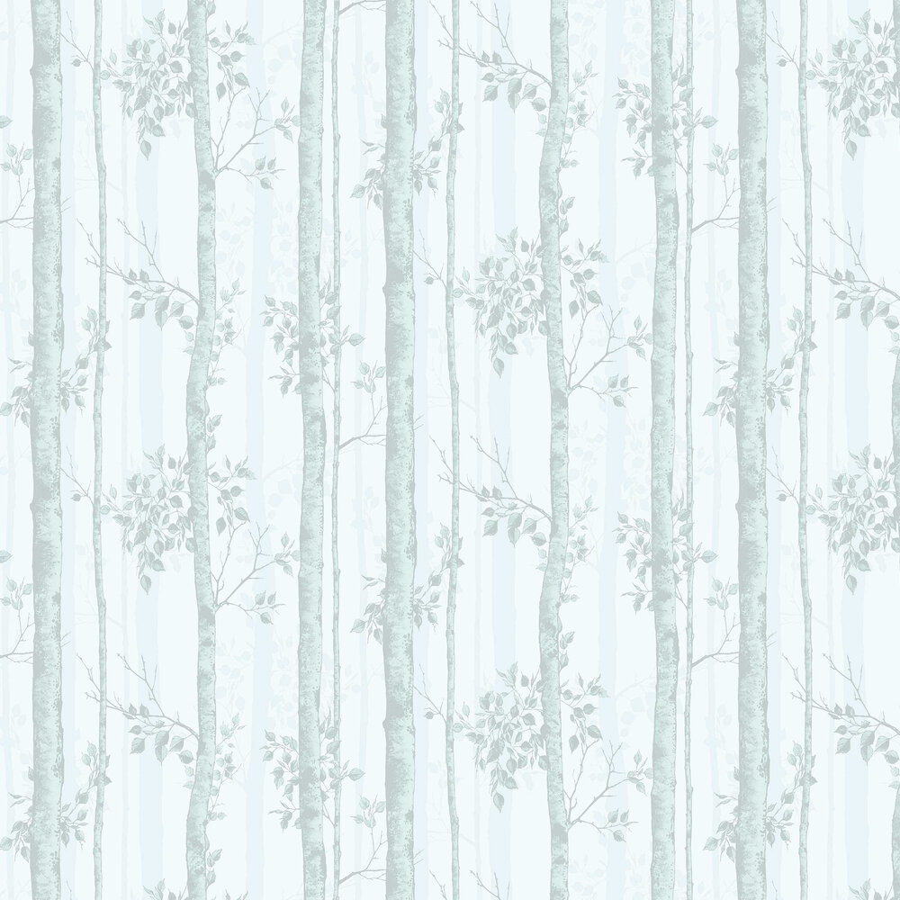Albero Wallpaper - Duck Egg - by Graham & Brown