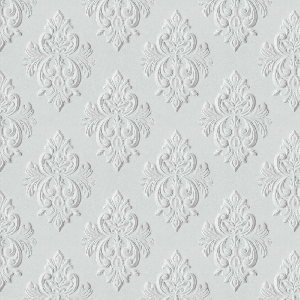 Graham & Brown Stone Damask Grey Wallpaper - Product code: 106440