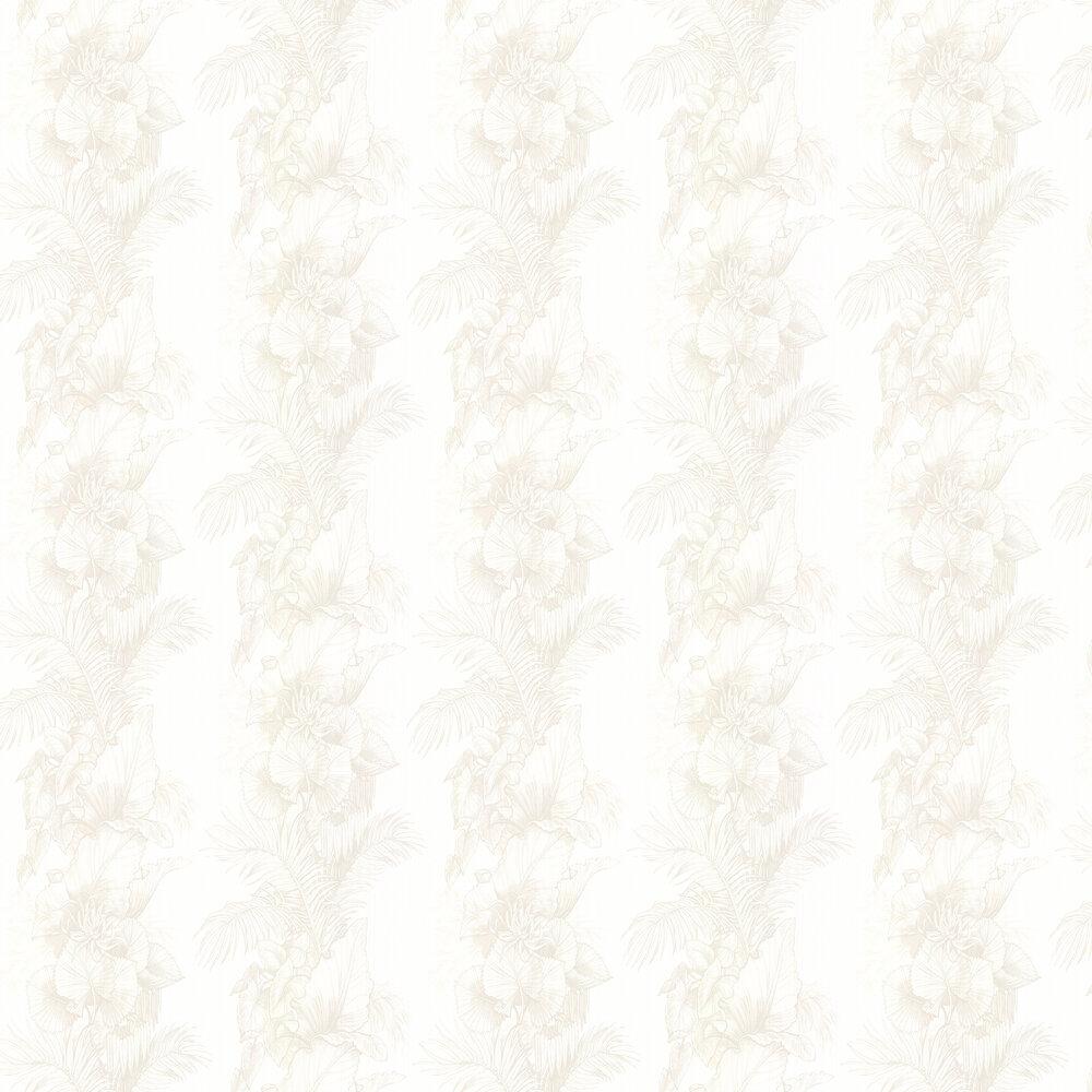 Laurence Llewelyn-Bowen Club Tropicana Peach Grey Wallpaper - Product code: LLB6006