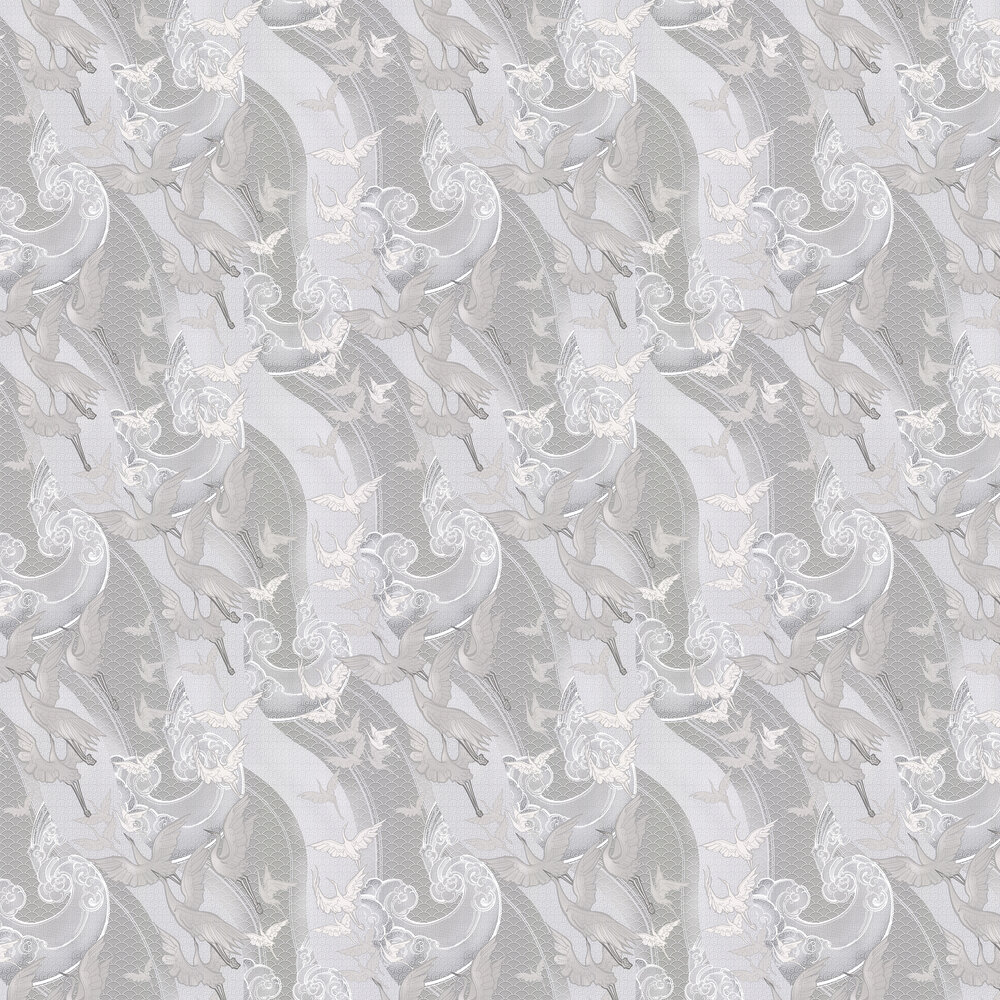Laurence Llewelyn-Bowen Craney Day Cool Greys Wallpaper - Product code: LLB6015