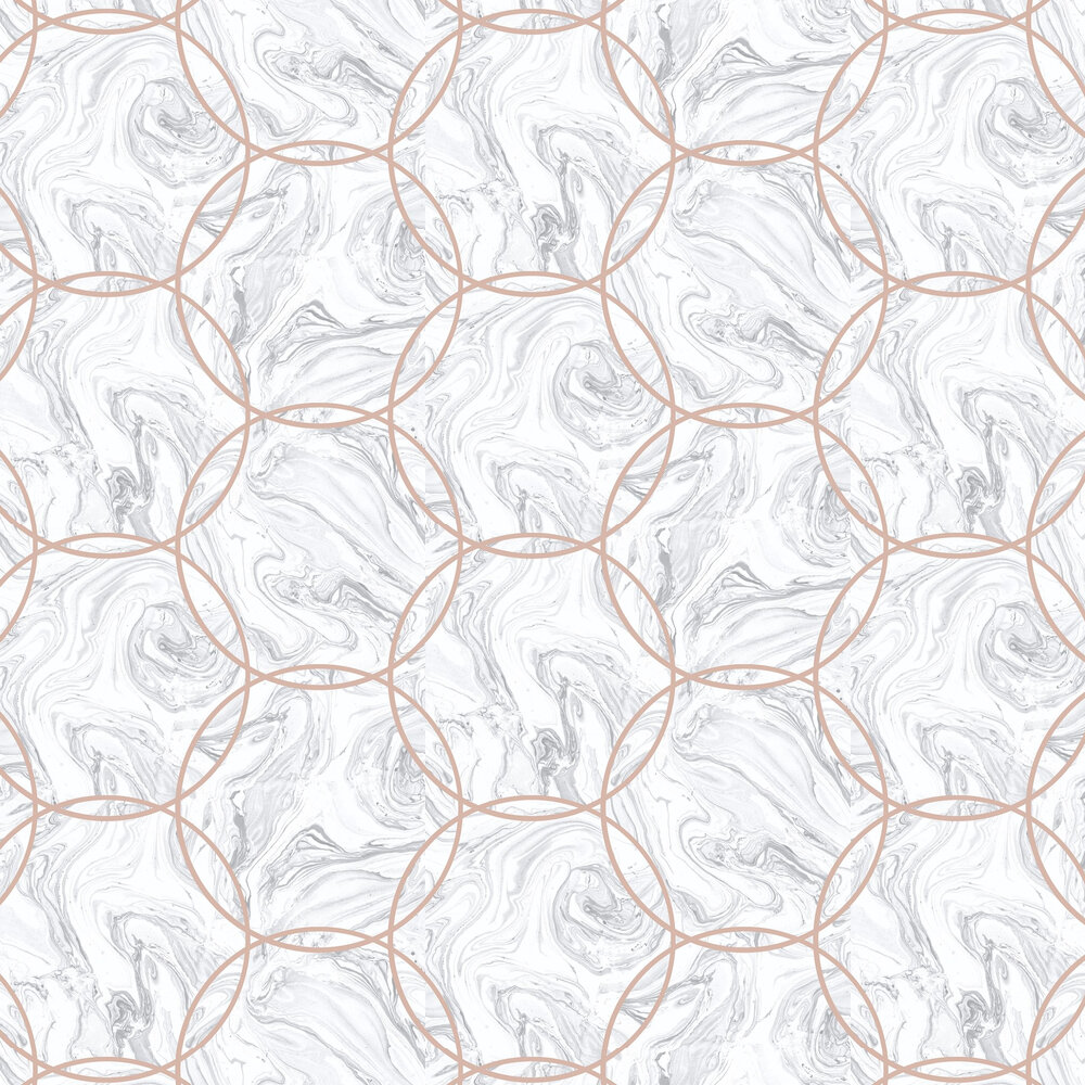 Aqueous Wallpaper - Geo Stone - by Graham & Brown