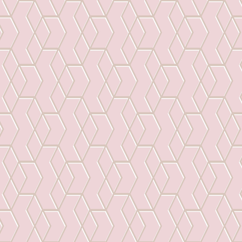 Archetype Wallpaper - Pink - by Graham & Brown
