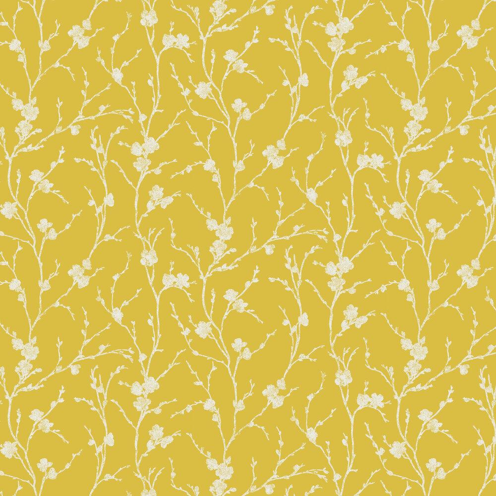 Graham & Brown Meiying Saffron Wallpaper - Product code: 103521