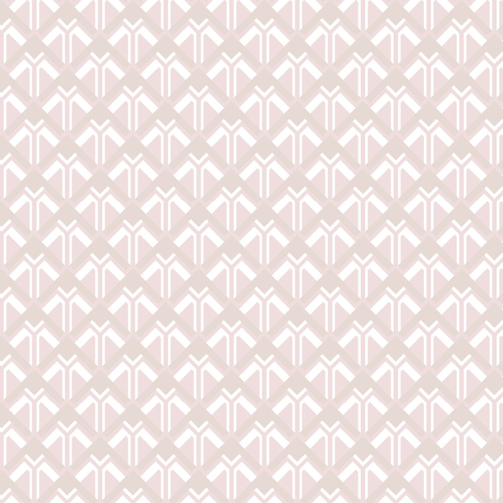 Beau Wallpaper - Pink Cocktail - by Graham & Brown