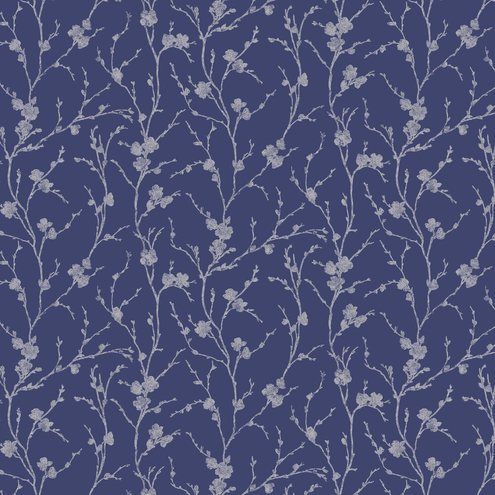 Graham & Brown Meiying Cobalt Wallpaper - Product code: 103523