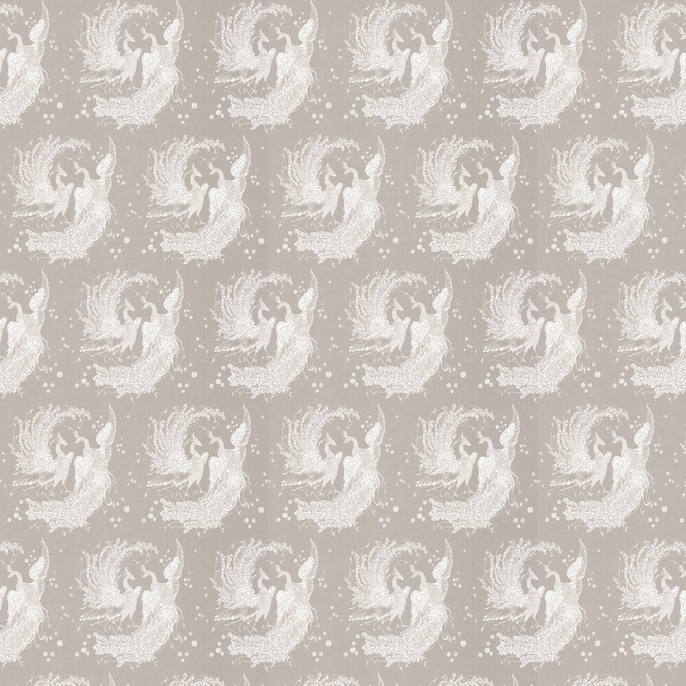 The Boys are Back in Town Wallpaper - Platinum - by Laurence Llewelyn-Bowen