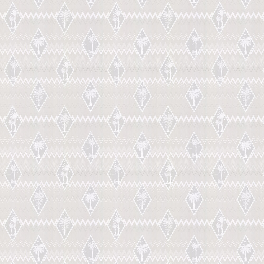 Laurence Llewelyn-Bowen Tropicalia Grey Wallpaper - Product code: LLB6037