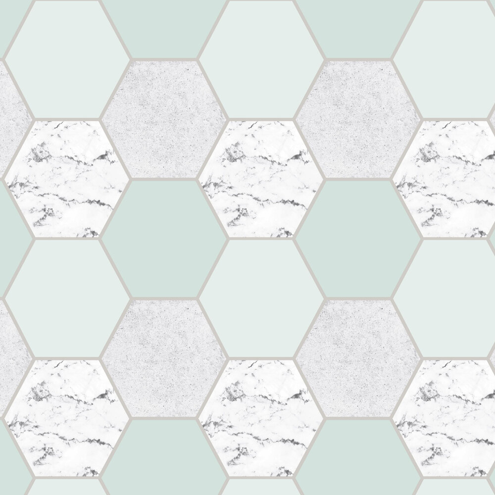 Graham & Brown Earthen Mint Wallpaper - Product code: 106348