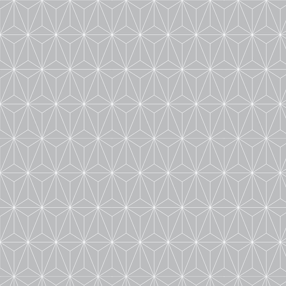 Graham & Brown Prism Silver Wallpaper - Product code: 104740