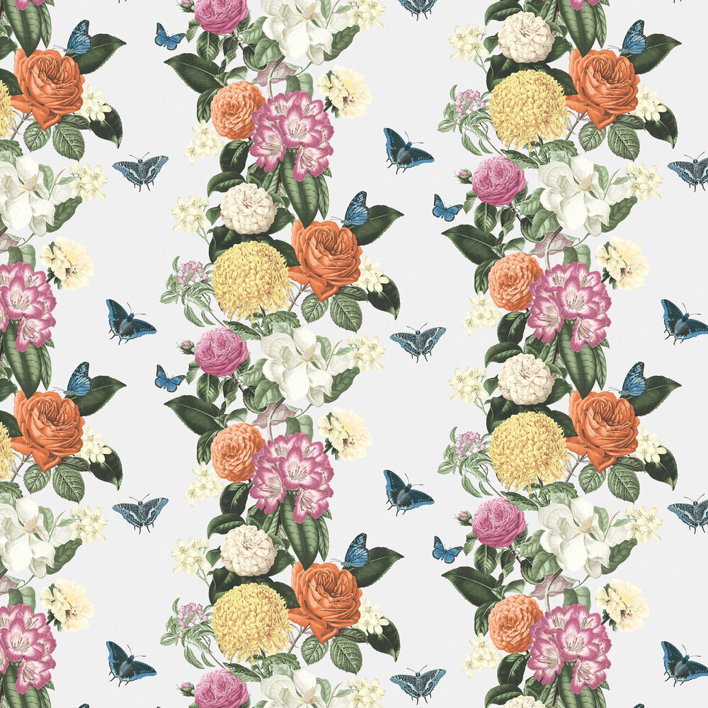 Graham & Brown Bloomsbury White / Multicoloured Wallpaper - Product code: 107887
