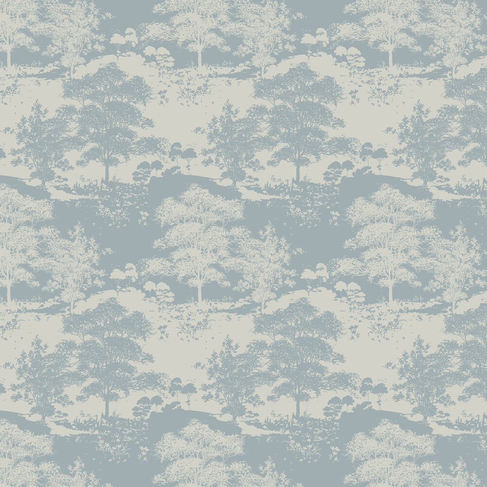 Meadow Wallpaper - Dusk - by Graham & Brown