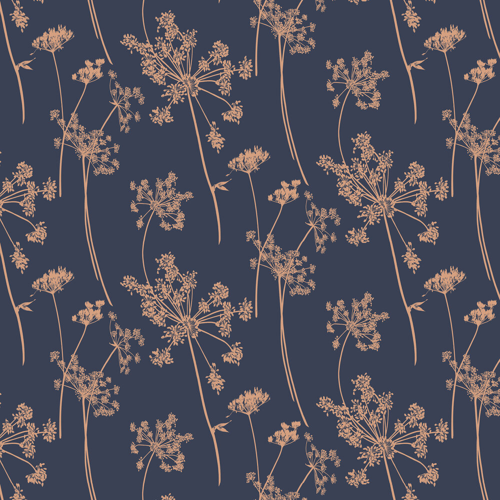 Graham & Brown Anthriscus Dusk Wallpaper - Product code: 105581