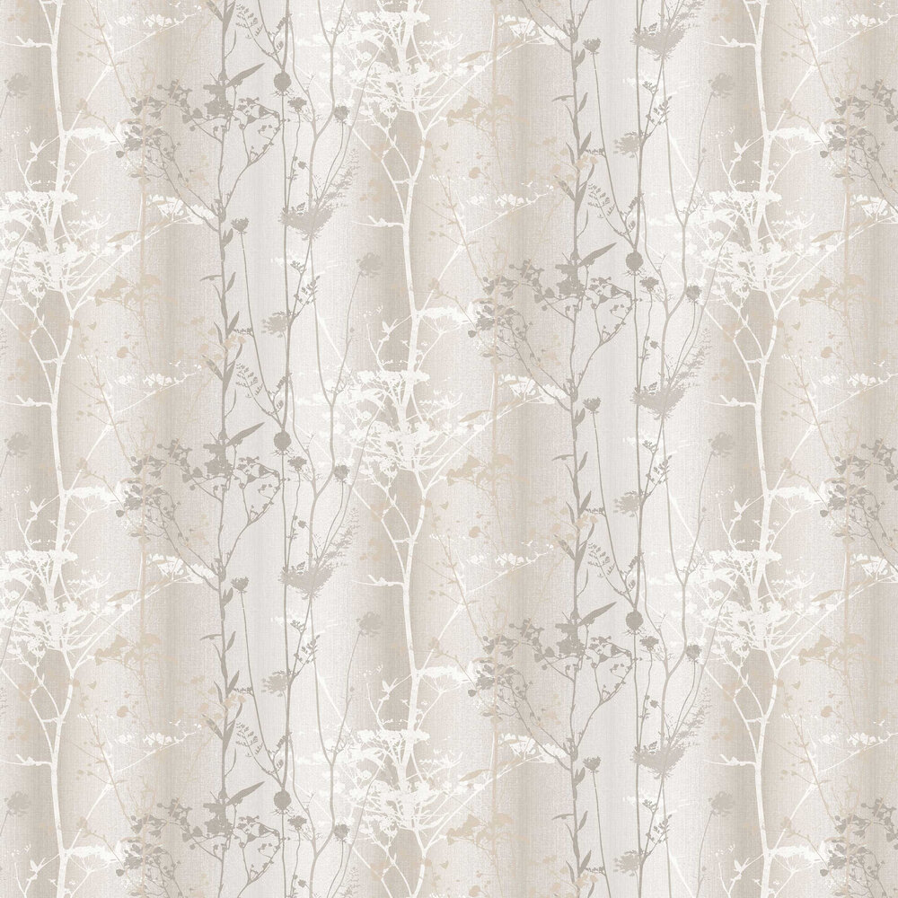 Wildflower Wallpaper - Sand - by Graham & Brown