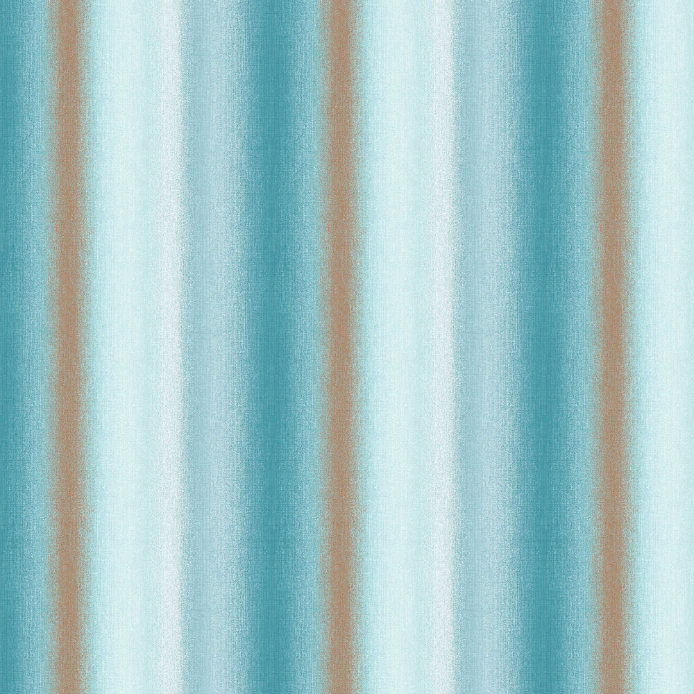 Graham & Brown Wildflower Stripe Teal Wallpaper - Product code: 105898