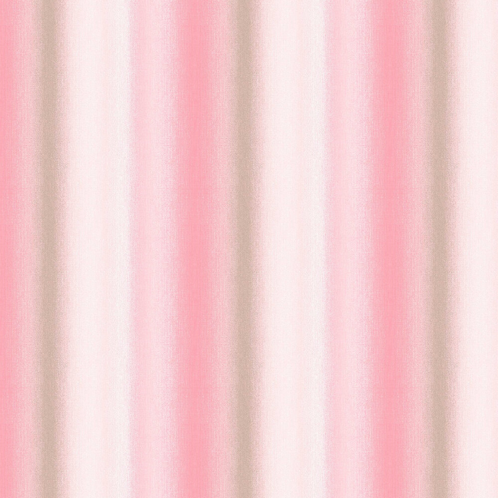 Graham & Brown Wildflower Stripe Coral Wallpaper - Product code: 105899