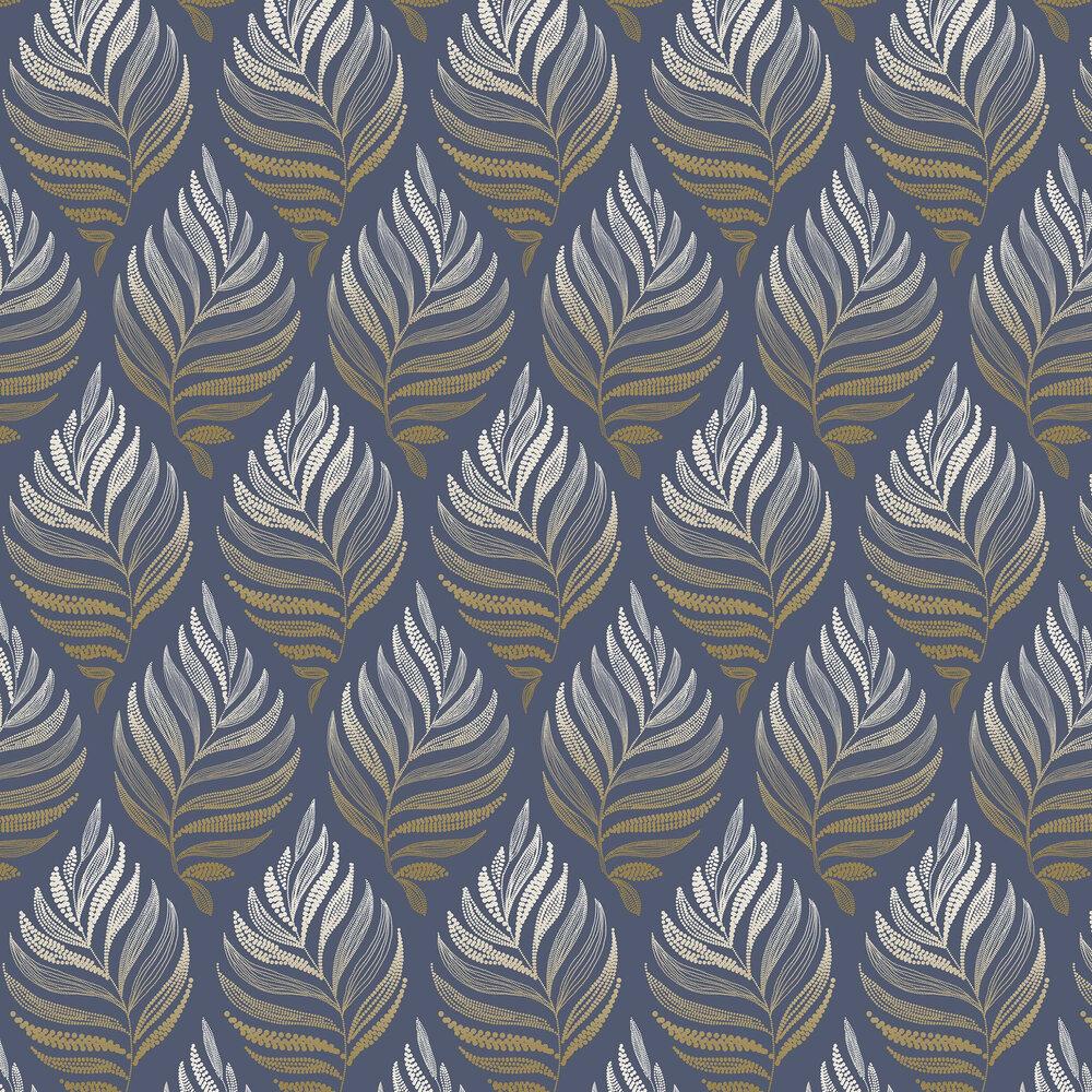 Botanica Wallpaper - Midnight - by Graham & Brown