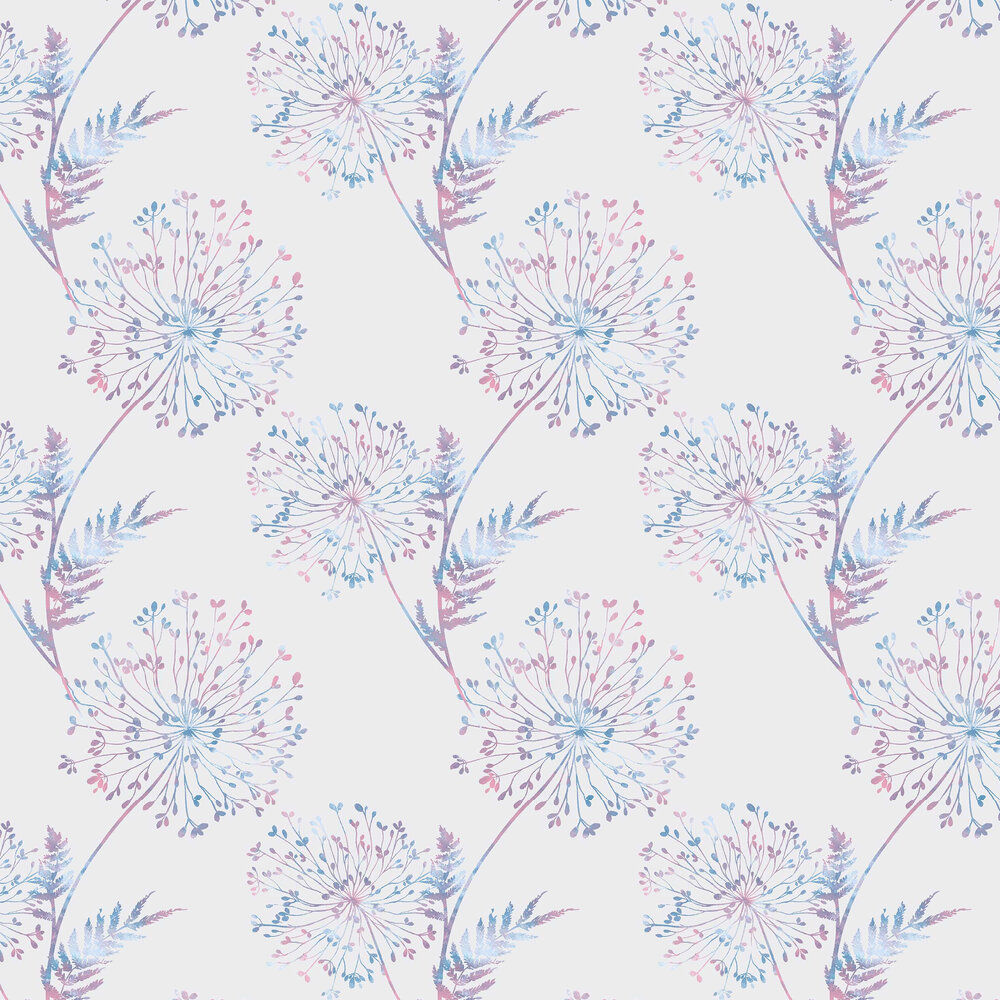 Graham & Brown Wish Lilac Wallpaper - Product code: 106436