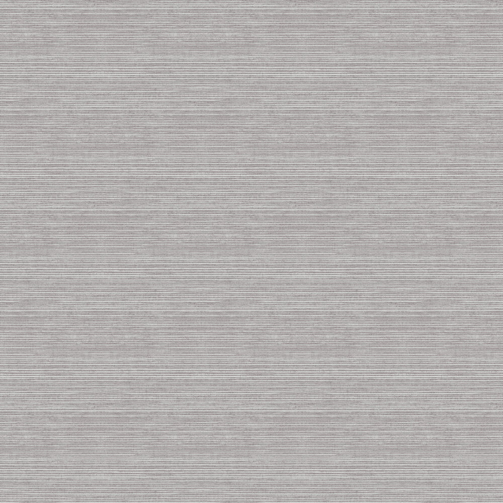 Faux Grass Cloth Wallpaper - Grey - by Galerie