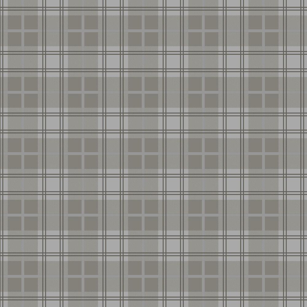 Tartan Wallpaper - Earth - by Graham & Brown