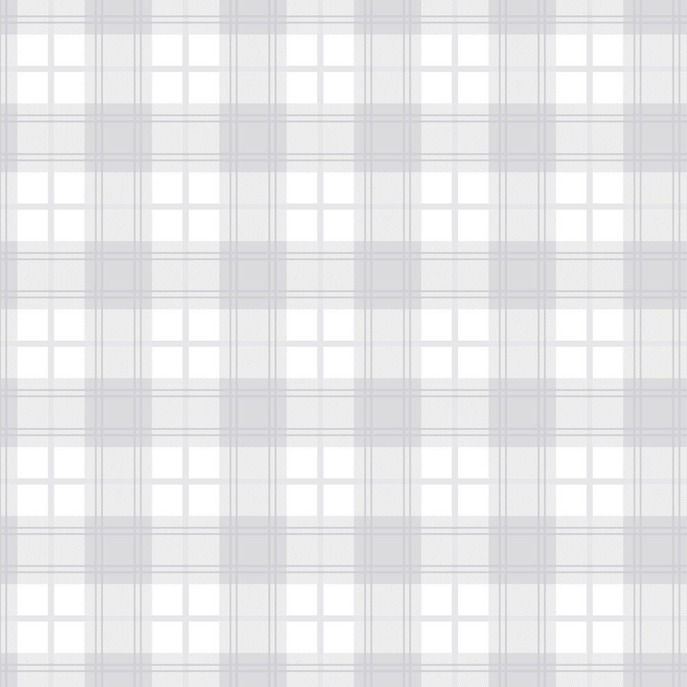 Graham & Brown Tartan White Wallpaper - Product code: 105905
