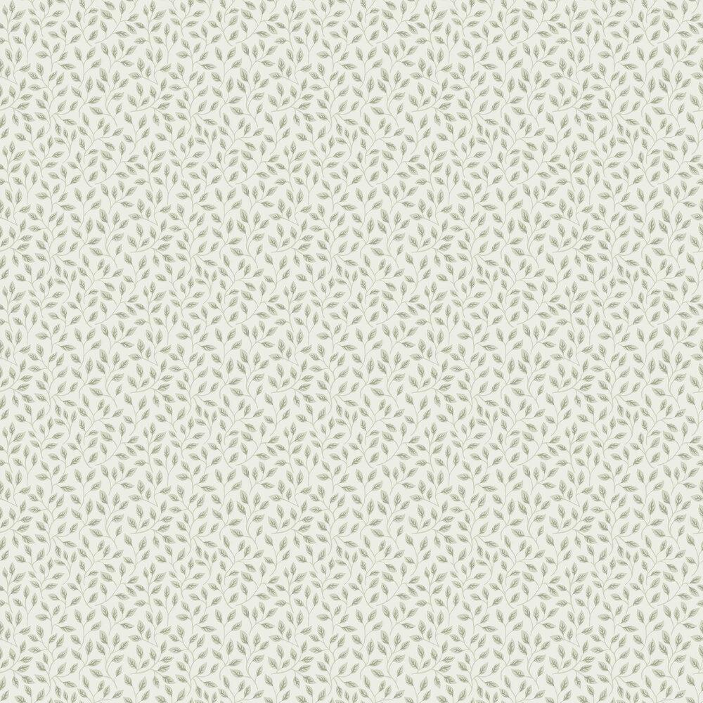 Galerie Apelkvist White / Green Wallpaper - Product code: 33019