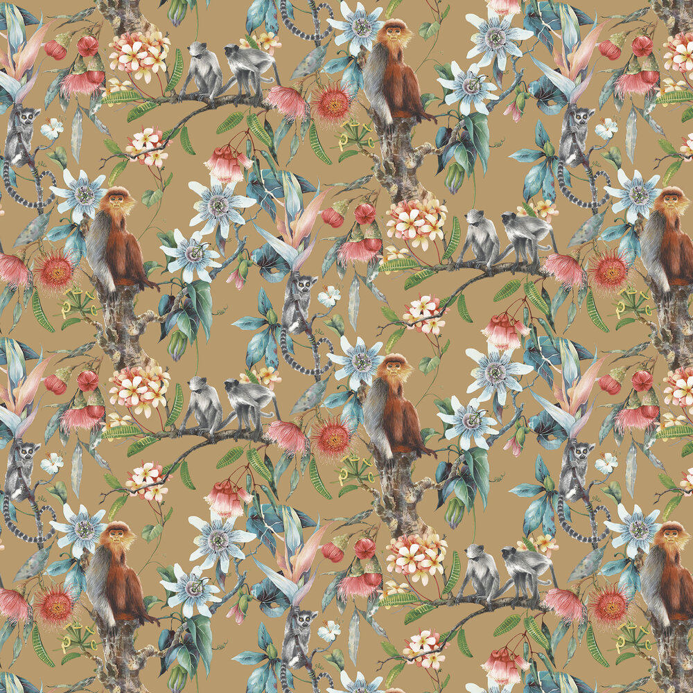 Galerie Tropicana Gold Wallpaper - Product code: G67958