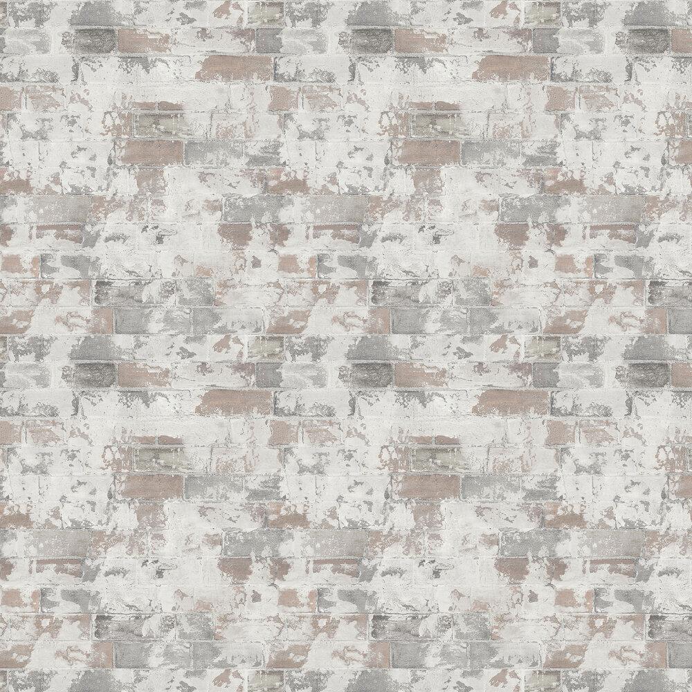Galerie Rustic Brick Natural Wallpaper - Product code: G67989