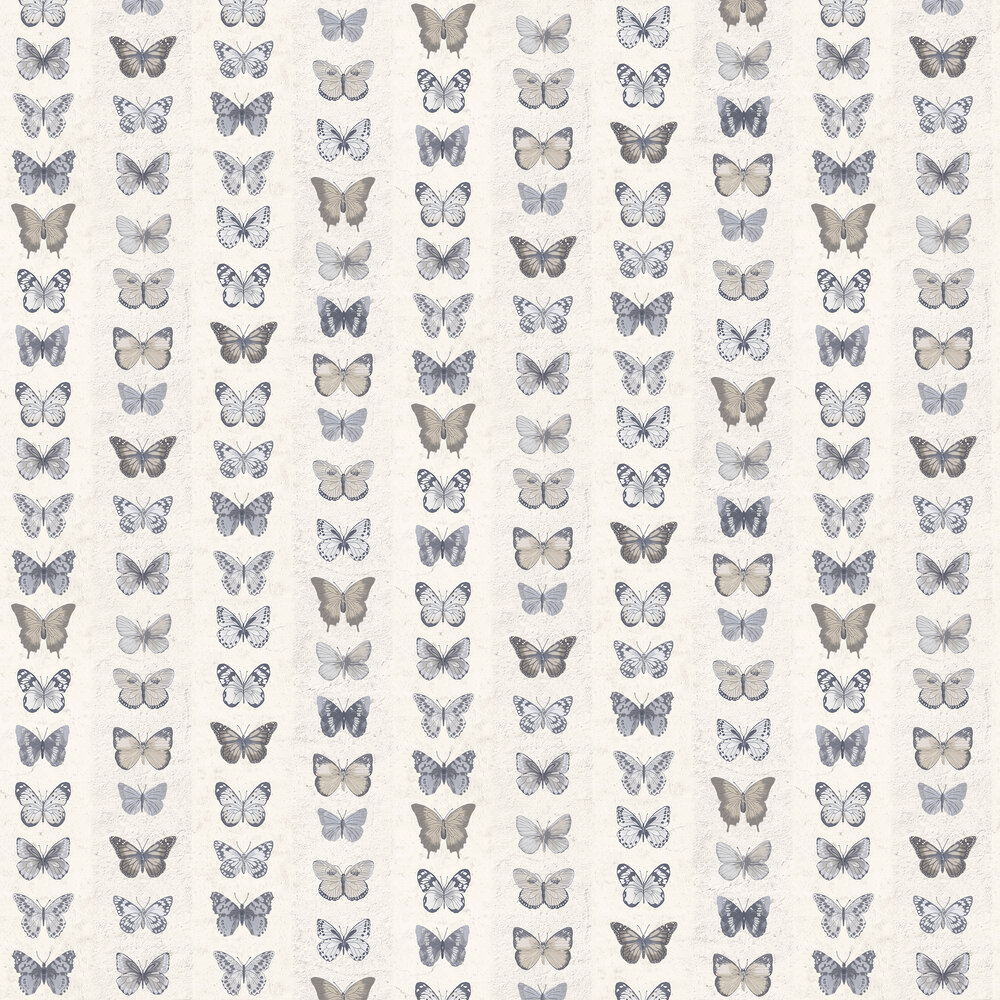 Galerie Butterfly Wall Grey Wallpaper - Product code: G67993