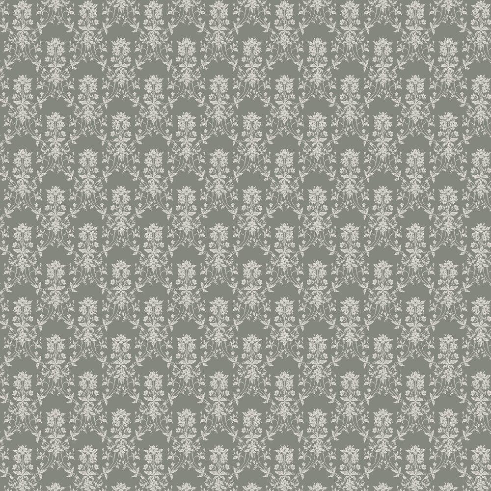 Alva Wallpaper - Forest Green - by Sandberg