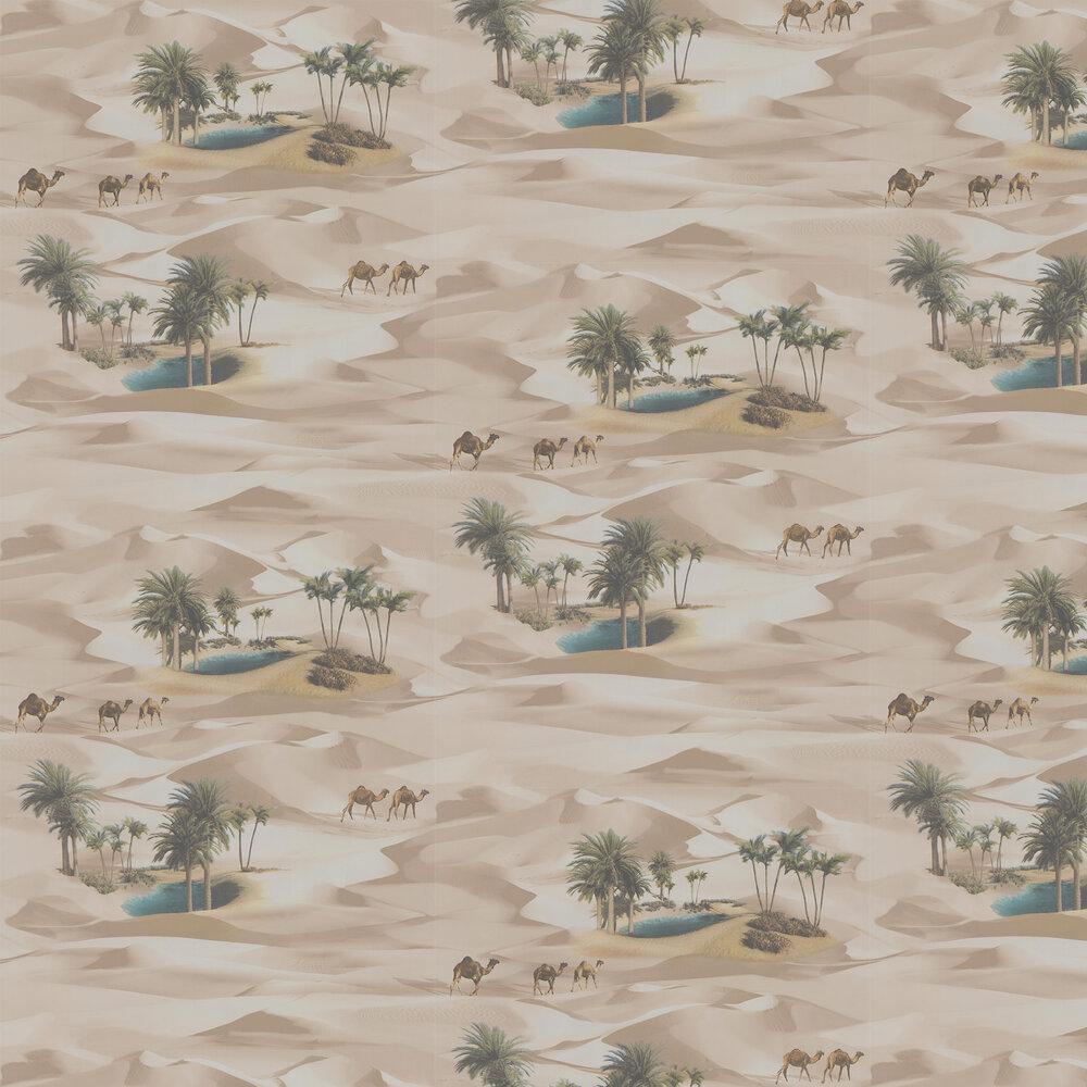 Desert Oasis Wallpaper - Multi Coloured - by SK Filson