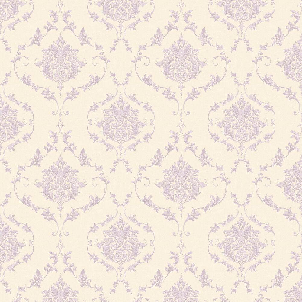 Damask Wallpaper - Purple - by SK Filson