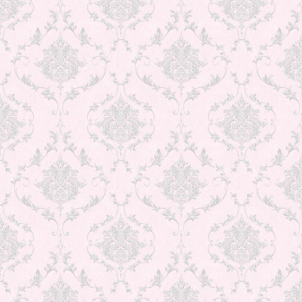 Damask Wallpaper - Pink - by SK Filson