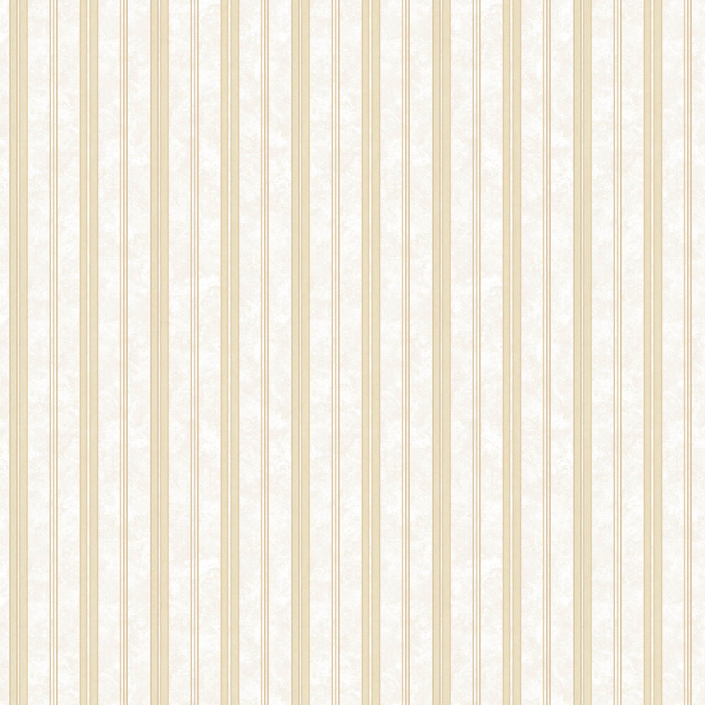 Textured Stripes Wallpaper - Gold - by SK Filson