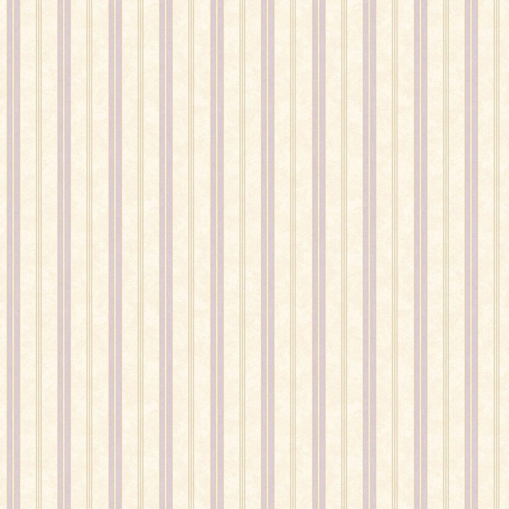 Textured Stripes Wallpaper - Purple - by SK Filson