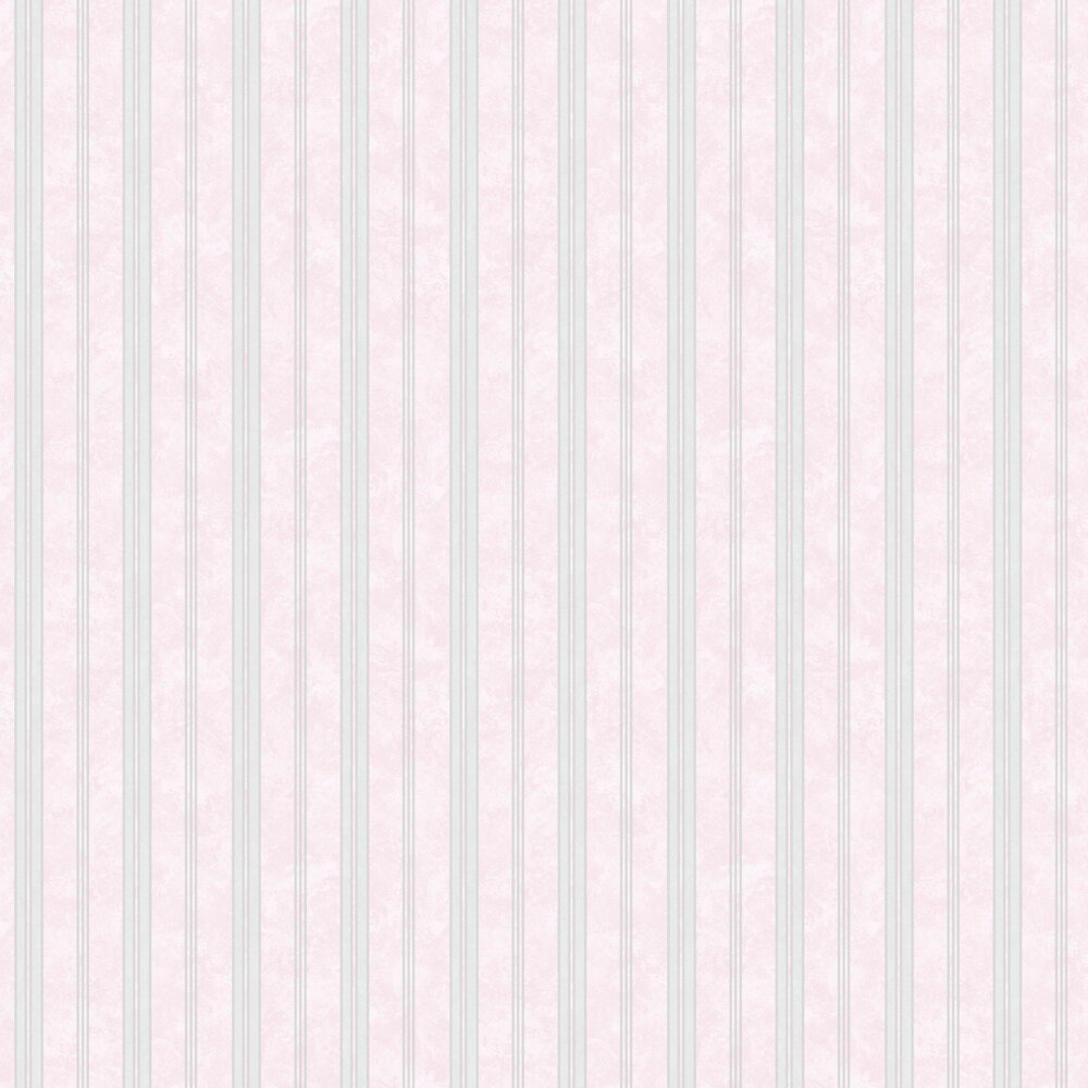 Textured Stripes Wallpaper - Pink - by SK Filson