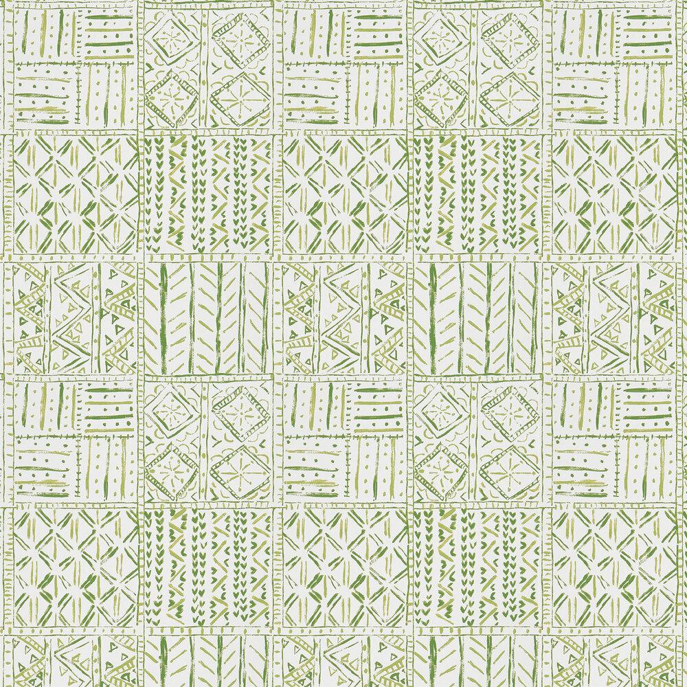 Nina Campbell Cloisters Green Wallpaper - Product code: NCW4391-03