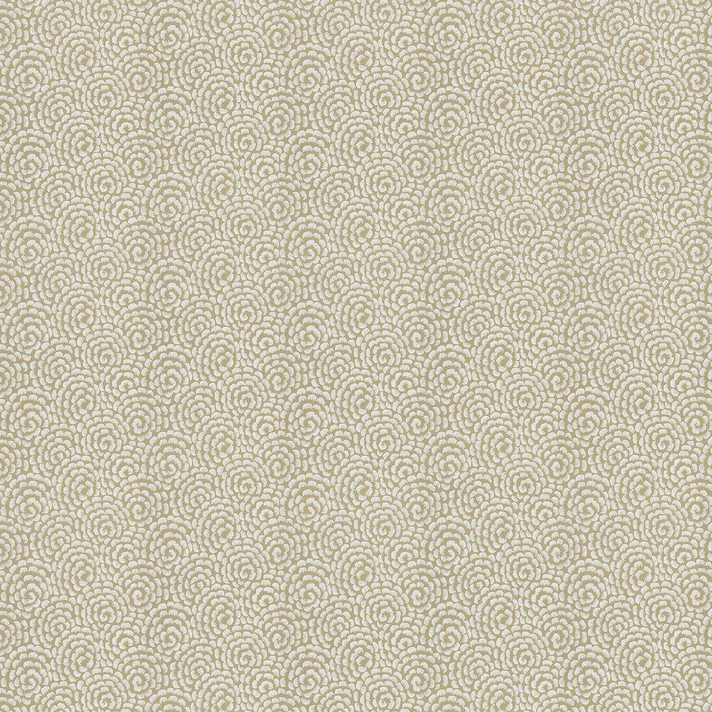 Nina Campbell Kingsley Gold/ Ivory Wallpaper - Product code: NCW4395-03
