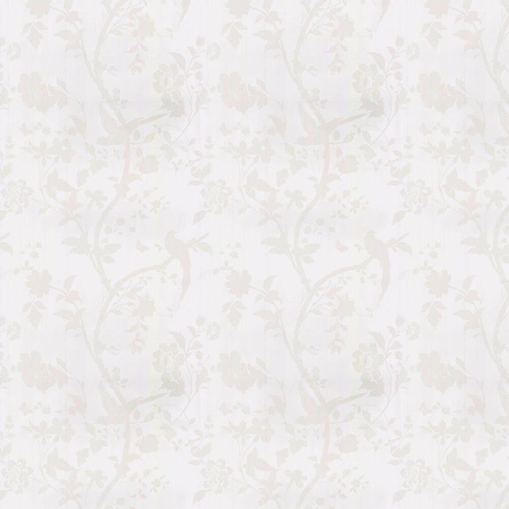 Laura Ashley Oriental Garden  White Wallpaper - Product code: 3633562