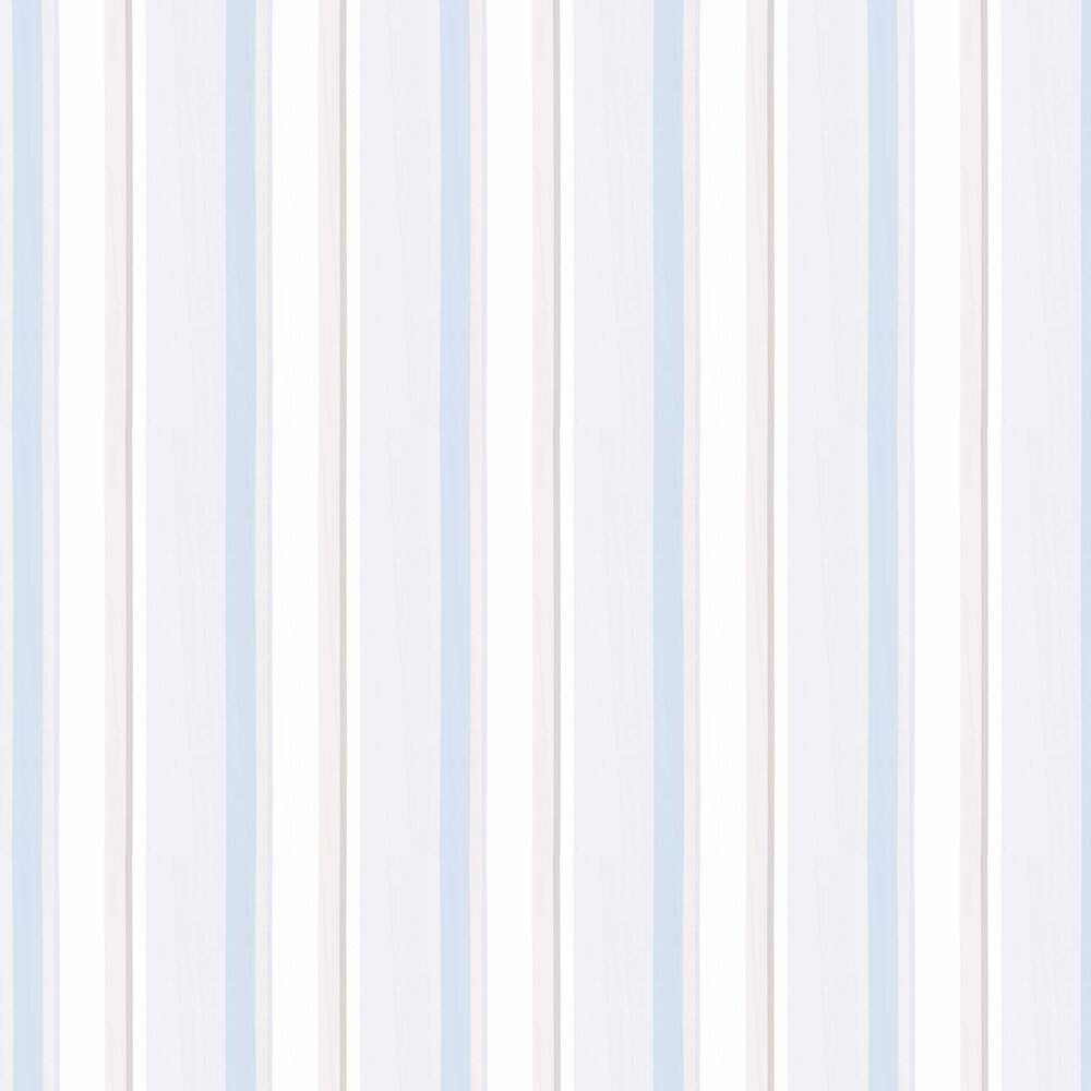 Laura Ashley Eaton Stripe Dove Grey / Seaspray Wallpaper - Product code: 3601133