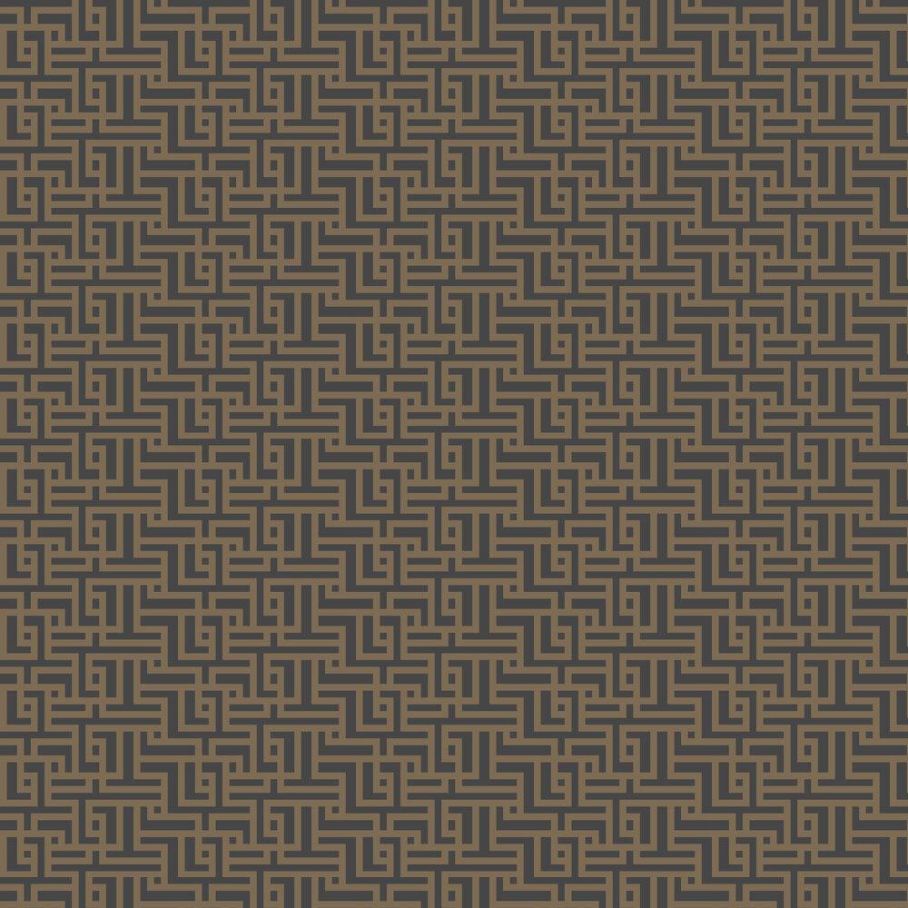 Graham & Brown Zen Charcoal Wallpaper - Product code: 103518