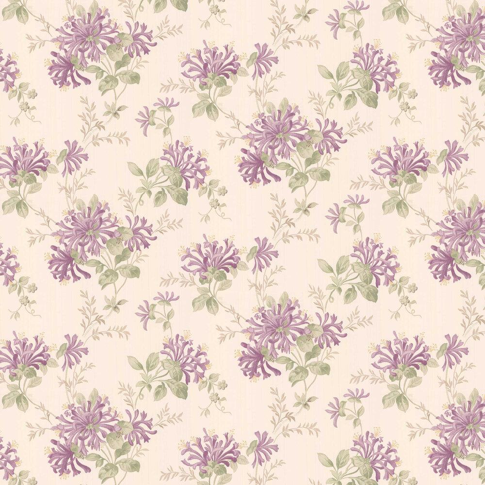 Laura Ashley Honeysuckle Trail Grape Wallpaper - Product code: 3635735