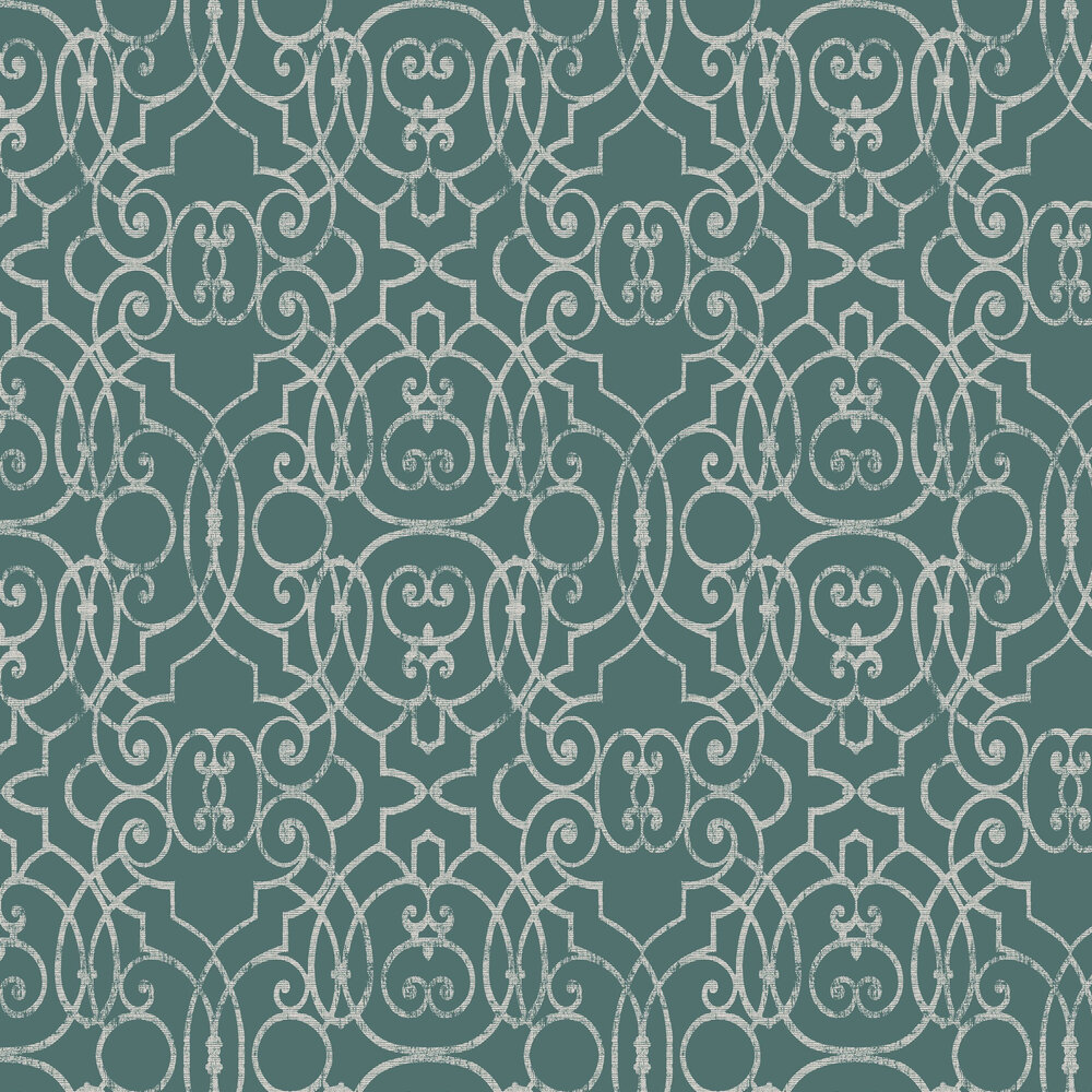 Shoji Wallpaper - Jade - by Graham & Brown