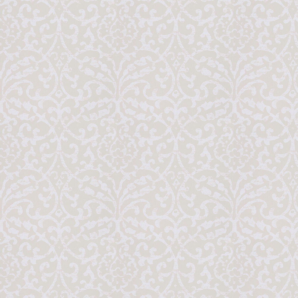 Nina Campbell Brideshead Ivory Wallpaper - Product code: NCW4396-02