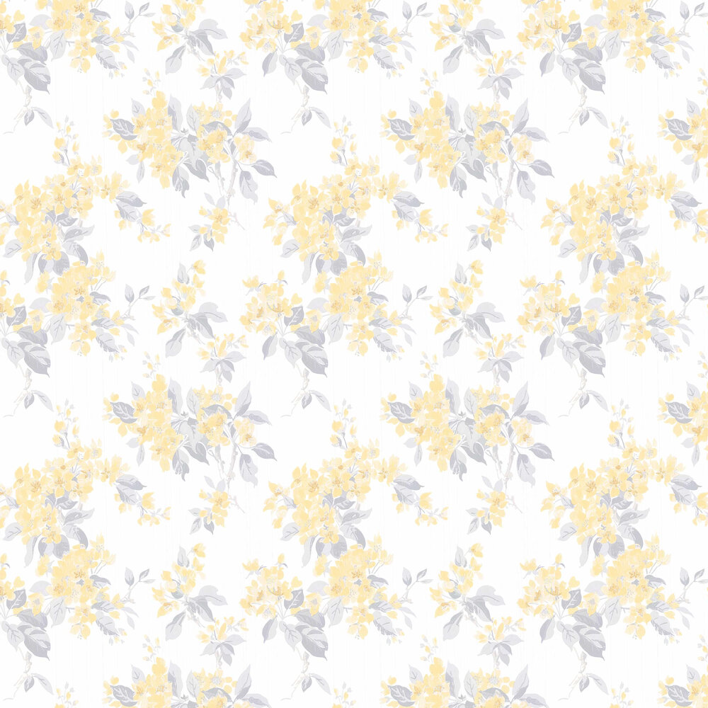Apple Blossom By Laura Ashley Off White Pale Sunshine