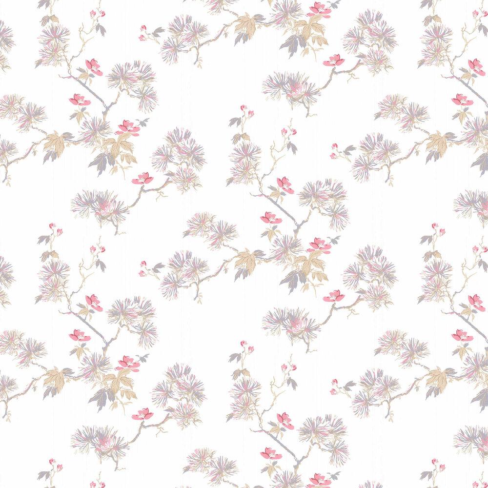 Laura Ashley Nara Soft Truffle Wallpaper - Product code: 3726001