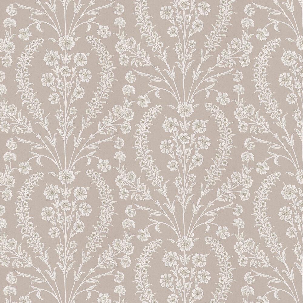 Nina Campbell Chelwood  Dove Grey Wallpaper - Product code: NCW4392-03