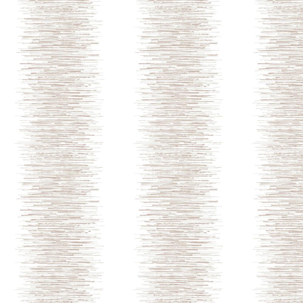 Tornado Stripe Wallpaper - White - by Graham & Brown